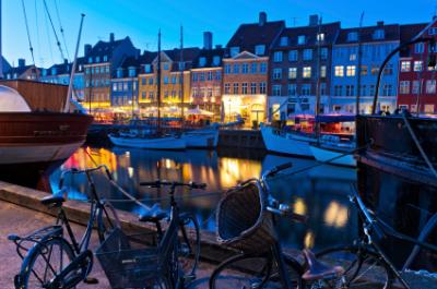 El puerto de Copenhagen