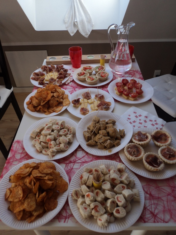 aperitivos fiesta de cumplea os summer pilar