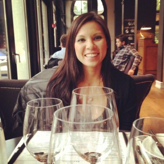 Esta último viernes, salí a cenar con Elise a Nimb - ¡qué caro!